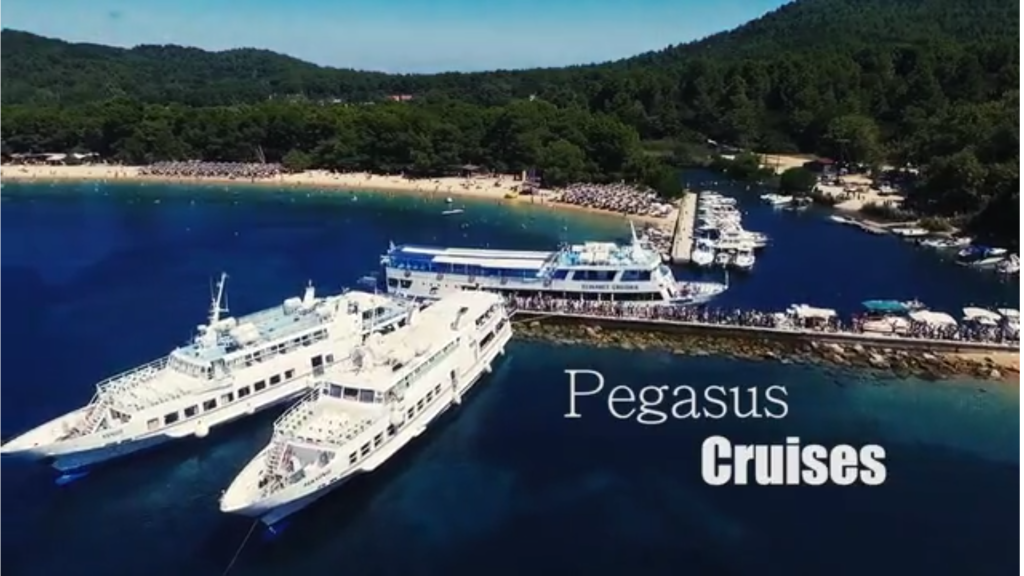 A Crusie to Skiathos Koukounaries Beach with Pegasus Cruises