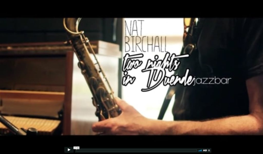 Nat Birchall In Greece - Duende Jazz Bar