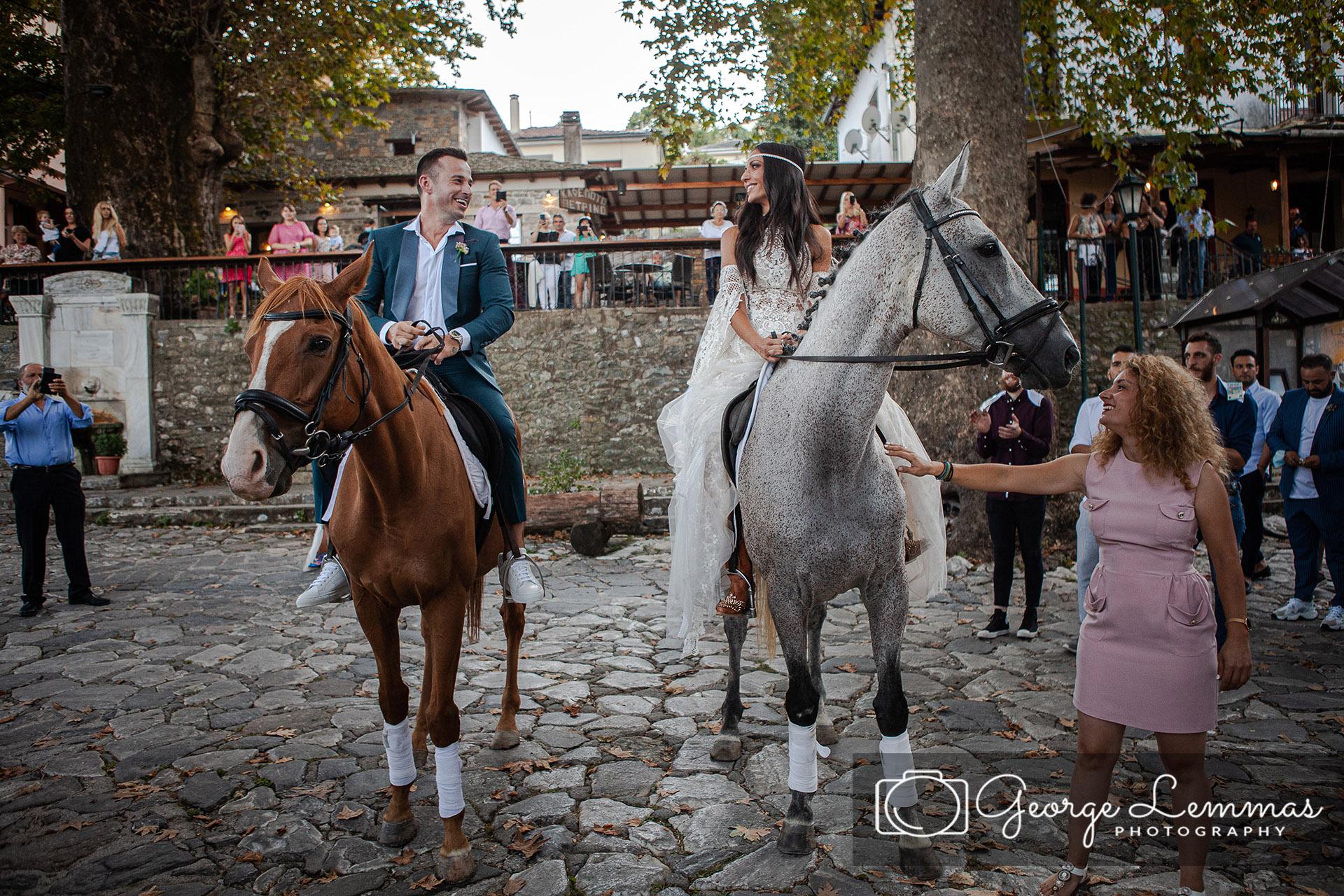 Ανθη Βουλγαρη Γαμος στο Πηλιο