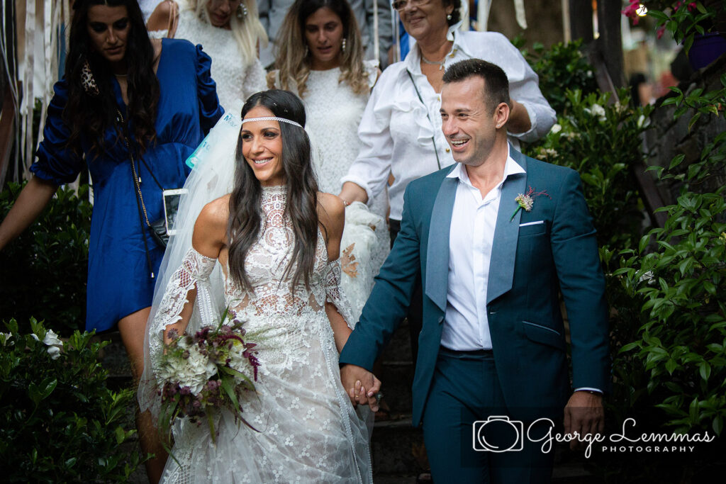 Boho style Retro Wedding in Pelion Mountain