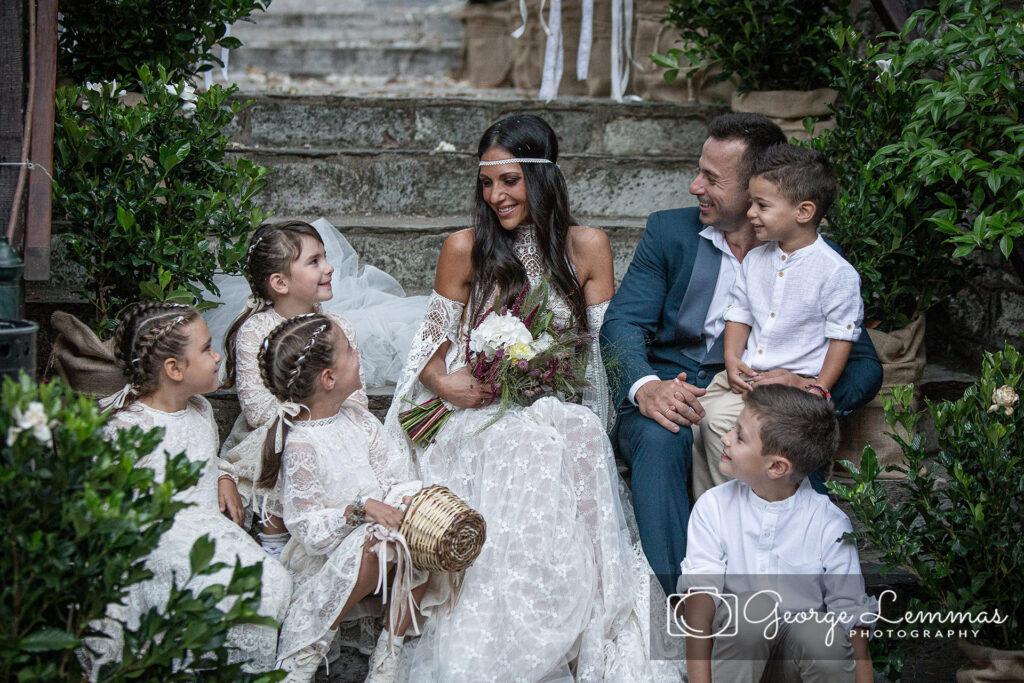 Ανθη Βουλγαρη Φωτογραφια Γαμου στον ιερο Ναο Αγιας Μαρινασ Κισσος Πηλιου